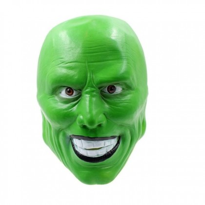 Halloween DTP Costume Cosplay Party The Mask Green