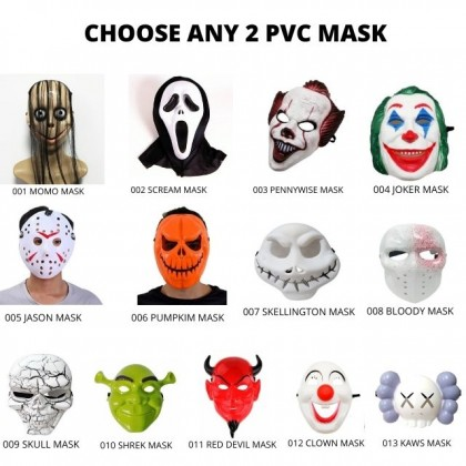 DTP Costume Cosplay Party Scream Mask