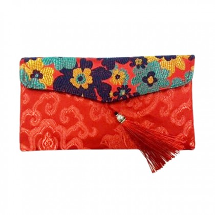 Chinese New Year CNY Multipurpose Wallet Coin Purse Storage