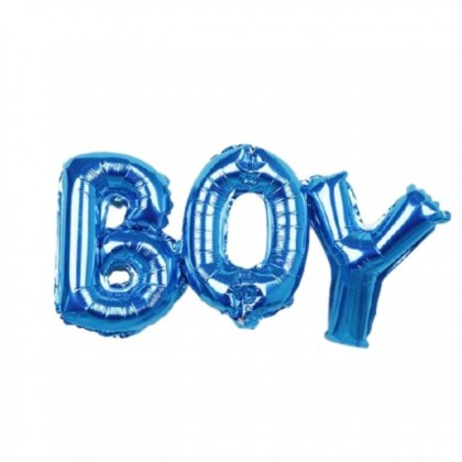 Girl / Boy Foil Balloons for Baby Shower Decorations Gender Reveal Party Supplies