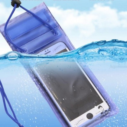 JOURNEY Transparent Waterproof Cover Case Strong 3 Layer Pouch Phone Bag