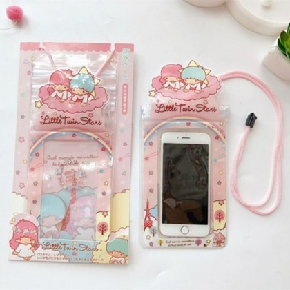 Cartoon Waterproof Phone Case Cover Mobile Camera PVC Handphone Bags