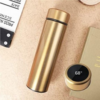 Personalized 480ml Smart LED Temperature Stainless Steel Thermos Flask