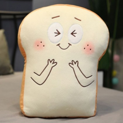 Cute Toast Pillow Slice Plush Toy Pillow Doll Home Decoration Gifts