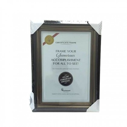 A4 Touchwood Certificate Document Frame Photo Family Home Decor Gallery Wedding Memories