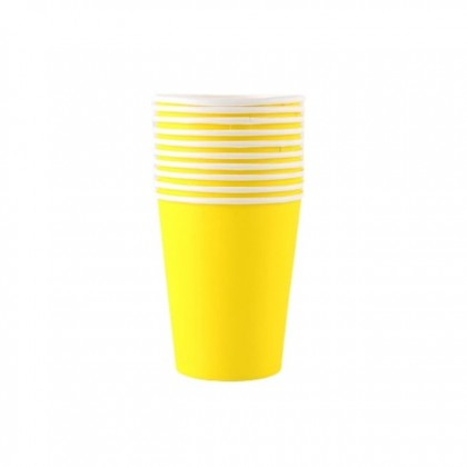 DO THAT PARTY (DTP) Party Paper Cup (10pcs) Disposable Color Paper Cup for Birthday Wedding Event Party