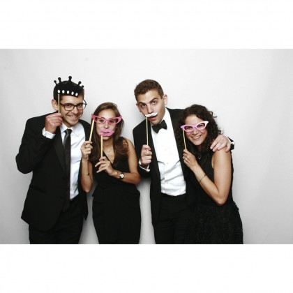 "S&J Co. Giant Photo Props Wood Thumbs-Up Birthday Party Decoration Wedding Event Photo Booth ""Like"" Emoji on a Stick"