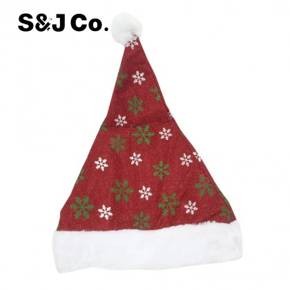 Fashion Red Santa Snowflakes Merry Christmas Hat/Gift