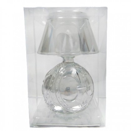 Glass Table Candle Lamp Luxury Romantic Bedside Table Lamp
