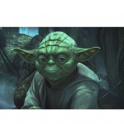 Halloween DTP Star Wars Master Yoda Green Mask Cosplay Costume Party