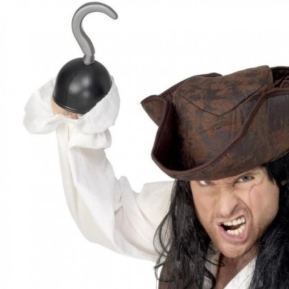 Fake Pirate Hand Hook Party Costume Accessories