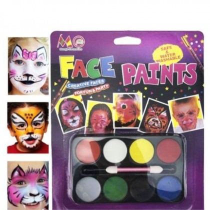 Make Up 8 In 1 Palette Suitable For Parties